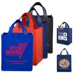 Large Imprint Grocery Tote