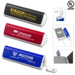 UL Listed 2200mAh Portable Lithium Ion Power Bank Charger