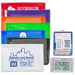 7 Piece First Aid Kit with Ibuprofen