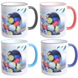 Full Color 11 Oz. Mug with Colored Accents