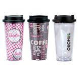 Charlotte 16 Oz. Double Wall Clear Tumbler