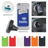 Air Vent Magnetic Phone Wallet