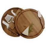 Acacia Cheese Board Set