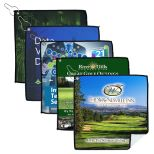 Full Color Suede Golf Towel - Holiday Savings