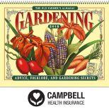 2018 The Old Farmer's Almanac Gardening Wall Calendar - Spiral