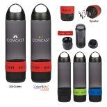 17 Oz. Tritan Bottle with Bluetooth Speaker