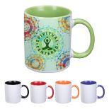 11 Oz. Sublimation Full Color Mug