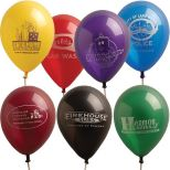 11 Luminous Latex Balloons