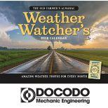 2018 The Old Farmer's Almanac Weather Watcher's Wall Calendar - Stapled