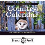 2018 The Old Farmer's Almanac Country Wall Calendar - Stapled