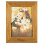 """Bamboo Picture Frame for 5"""" X 7"""" Photo"""