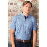 Vansport Pro Mini-Gingham Polo