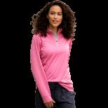 Women's Vansport Melange 1/4-Zip Tech Pullover