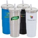 Urban Peak 25 oz. Marina Vacuum Tumbler and Straw