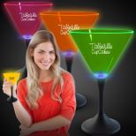 Neon LED Martini Glasses LED Cup