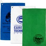 Heavy Duty Microfiber Golf Towel with Metal Grommet and Clip